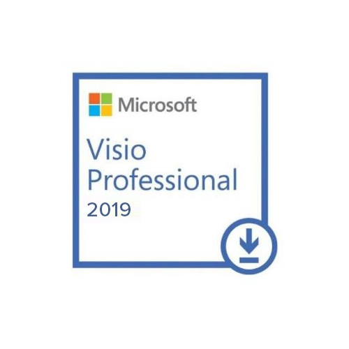 MS Visio Pro 2019 ESD Lisans D87-07425