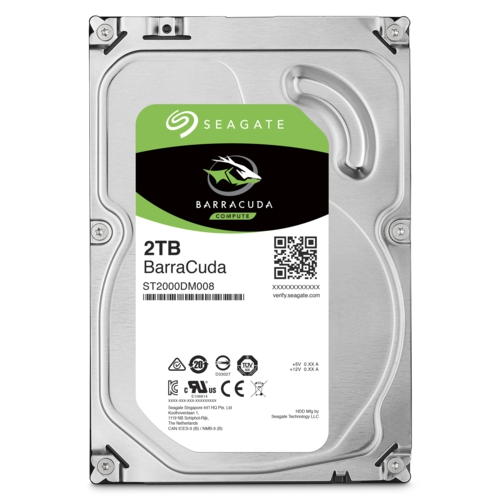 Seagate BARRACUDA 3.5 2TB 256MB 7200 ST2000DM008