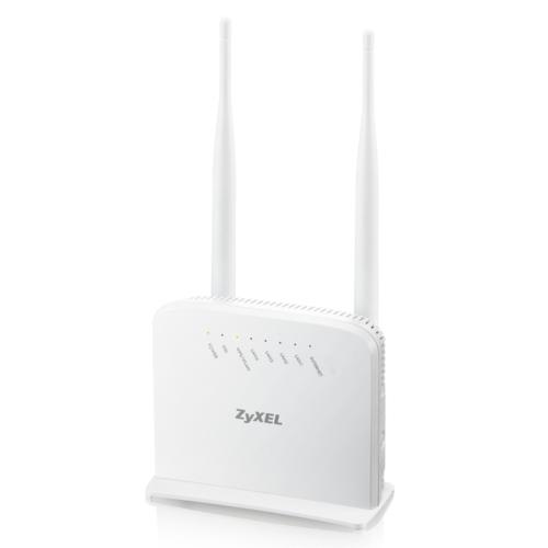 Zyxel P1302-T10D-V3 4Port 300Mbps Wi-Fi Modem
